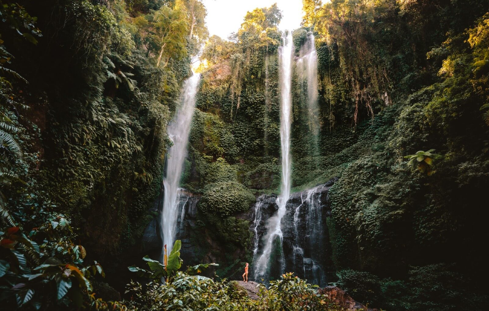 Munduk (Bali) : cascades, jungle et plantations