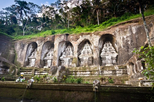 Les mausolées de Gunung Kawi