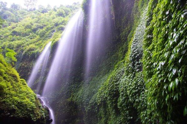 La cascade de Madakaripura, à Java