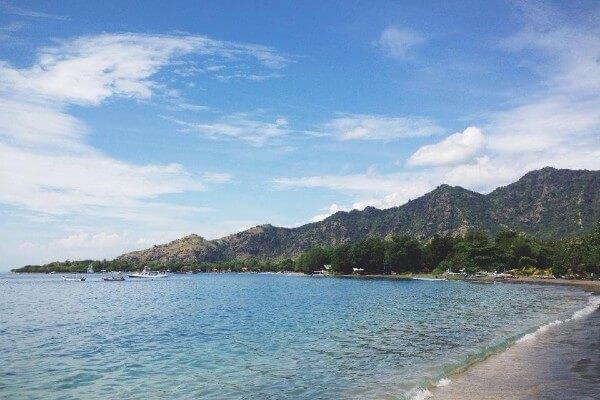 La plage de Pemuteran, à Bali