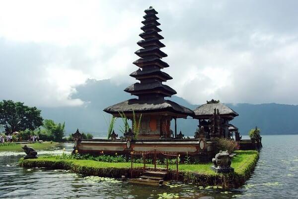 Ulun Danu Bratan, site culturel proche de Munduk à Bali